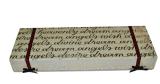 Het aangepaste Gouden Vakje van de Verpakking van het Document Kosmetische (yl-C05)