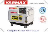 Diesel van het Type van Huishouden van Yarmax Economische Stille Generator 6kVA 230V 192 Ym9500e