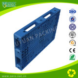 Seção transversal plástico da pálete 1200*800*135mm da cor azul