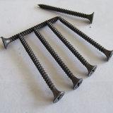 고품질 나팔 헤드 나사, 까만 인산 처리를 가진 건식 벽체 나사