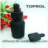 botella de cristal 30ml con el casquillo a prueba de niños y el cuentagotas fino en China