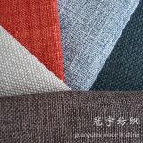 Tissu de toile de polyester synthétique pour la décoration