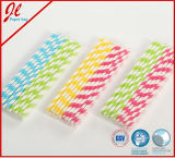 Purpurrote Eco Partei-trinkende Papierstroh-Partei-Produkte