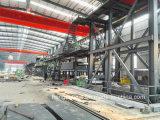 Линия покрытия процесс цвета катушки металла поставкы фабрики