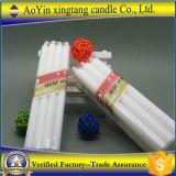 80g 2.5*20cm reine weiße Paraffinwachs-Kerze-/Cheap-Weiß-Kerze der Kerze-/