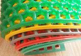 Agujeros anillo hueco de malla de drenaje El drenaje de agua de lluvia Zona húmeda de plástico PVC Rolls corredor de la alfombra del piso de vinilo Suelo Mats
