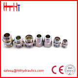 macho 2c métrico 24 cones do grau/fêmea métrica 24 adaptadores hidráulicos da tubulação do cone do grau