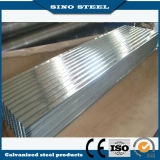 Jisg3302 Z100 por inmersión en caliente galvanizado corrugado hoja de cubierta de acero