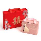 Творческая коробка сахара продуктов венчания, портативная коробка подарка конфеты типа ящика