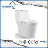 Toletta di ceramica dell'armadio di un pezzo di Siphonic della stanza da bagno (AT0200)