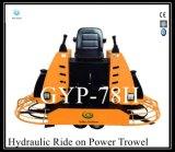 Passeio hidráulico do motor de Honda Gx690 no Trowel Gyp-78h da potência