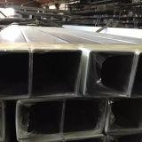 Tubo de aluminio rectangular 6082 T5 con la talla 350mm*350mm*32m m