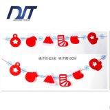 Напольный флаг шнура овсянки бумажный висеть рождества