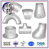 A234 Wpb soldadas a tope accesorios de tubería de acero / T / codo / Cruz / Reductor / Cap / Fin / conector