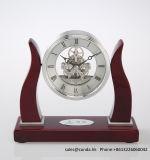 Horloge en bois faite à l'usine K8041 de bureau de grace