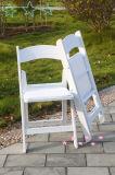 Ereignis-weißer Harz-Falte-Stuhl