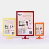 Freier stehender Plastikfoto-Bilderrahmen für Verkauf