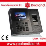 Système biométrique d'enregistrement de présence d'empreinte digitale et de carte