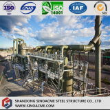 Alto edificio de la estructura de acero de la subida para la central eléctrica