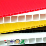 플라스틱 골판지 색깔 플라스틱 물결 모양 장을 착색하십시오