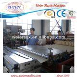 Kurbelgehäuse-Belüftung glasig-glänzende Dach-Fliese-Strangpresßling-Zeile/Herstellung-Maschine