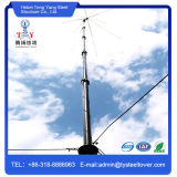 Torre de acero de Lowes Guyed para China Telecom Mannfacturer