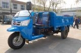 Waw Chinese Diesel Dump Three Wheel Truck para venda