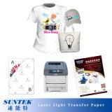 Бумага передачи тепла светлого цвета Laser-Jet размера A4 для тенниски