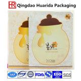 Dichtende Plastiktasche-Kosmetik-verpackenbeutel für Gesichtsschablonen-Aluminiumfolie-Beutel