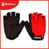 Boodun che corre i guanti di riciclaggio Fingerless rampicanti neri di ginnastica