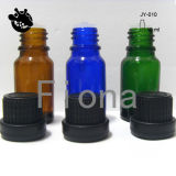 Childproof Capの10ml Essential Oil Glass Bottle