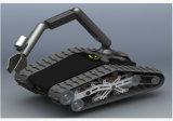 Mini-escavadeira de cauda de borracha Chassis / Track-track Undercarriage (K02SP6MCCS2)