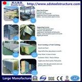 Canal de acero para el marco del almacén de la estructura de acero