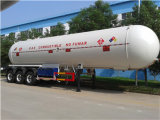56cbm 3 Axle Tank Semi LPG Tanker Trailer for Propane