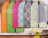Bolso de ropa durable del PVC del claro de Wterproof con la cremallera