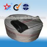 Incêndio flexível de alta pressão da tela de 3 polegadas - mangueira resistente da descarga do PVC