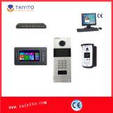 Timbre video de la memoria incorporada de Taiyito para el chalet con la función de la automatización casera