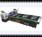 Impresión de tinta blanca de la máquina de la impresora plana de la materia textil