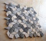 Mosaico di marmo romboide 2017 di Secial per la decorazione della stanza