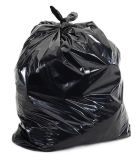 sac de détritus 10L en plastique sur le roulis