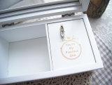 Деревянная коробка подарка нот