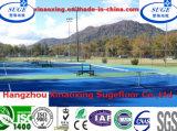 スリップ防止反Agging PPのモジュラープラスチックによって中断される連結のテニスコートのフロアーリング