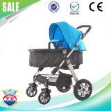 Poussette multifonctionnelle de parapluie de bébé en gros de qualité de Direclty d'usine avec de grandes roues