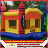 Горячий продавая замок дракона раздувной оживлённый, гигантская раздувная спортивная площадка для малышей, динозавр замока раздувной