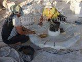 каменные фонтаны воды 2-Tier напольные для декора Mf1702 сада