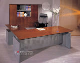 Filing Cabinet를 가진 목제 Executive Table/Wood Manager Table/Wood Executive Desk