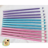 Dreieck Pencils Hb mit Stripe Paiting, Wooden Pencils (3614)