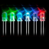 DIP 5mm Round Lighting СИД Diode с Long Legs