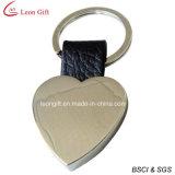 Изготовленный на заказ форма Keychain сердца пробела логоса для рекламировать