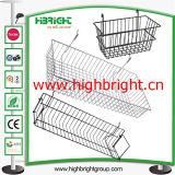 Steel Tube Metal Hanging Bar Support en acier pour étagères